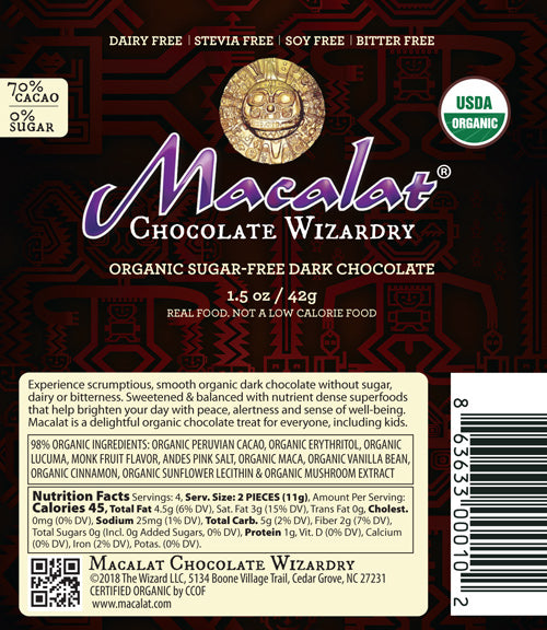 Macalat Chocolate Keto Wizardry