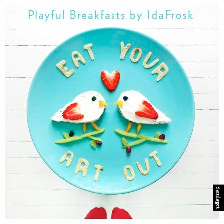 Eat your art out: playful breakfasts by IdaFrosk