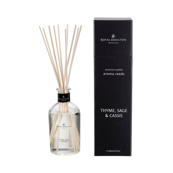 Thyme, Sage & Cassis Reed Diffuser