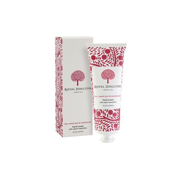 Rose, Sweet Pea & Sandalwood Hand Cream