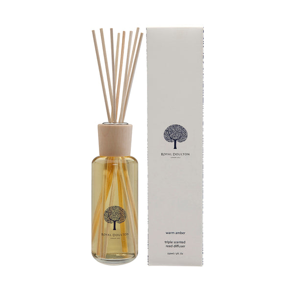 Warm Amber Mini Reed Diffuser