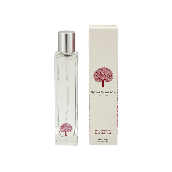 Rose, Sweet Pea & Sandalwood Room Spray