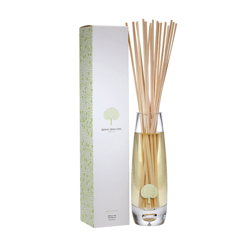 Fig & Cedarwood Vase Reed Diffuser