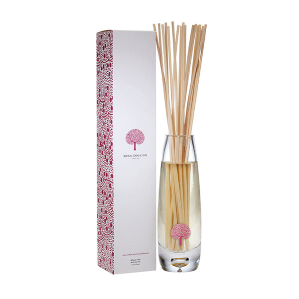 Rose, Sweet Pea & Sandalwood Vase Reed Diffuser