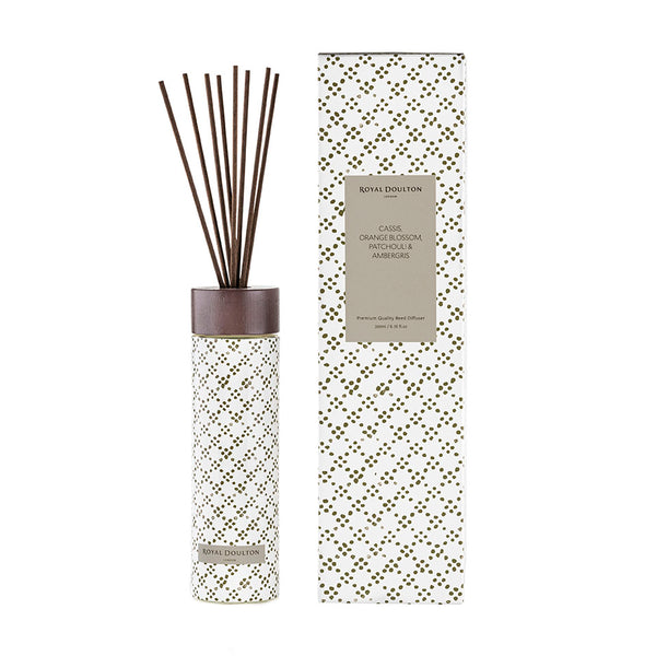Cassis , Orange Blossom, Patchouli & Ambergris Reed Diffuser