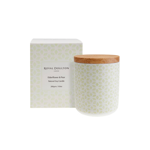 Elderflower & Pear Candle