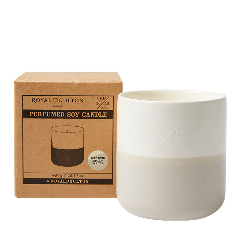 Cinnamon Spiced Vanilla Candle