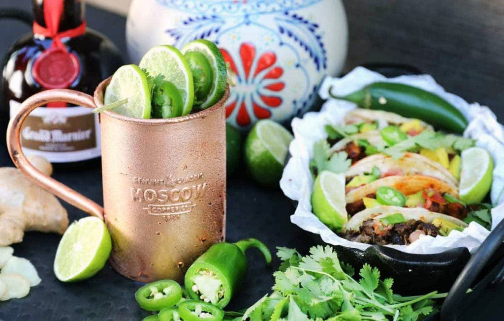 Perfect Food Pairings With A Moscow Mule