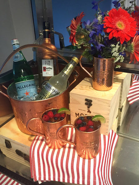 Red, White & Mule Recipe