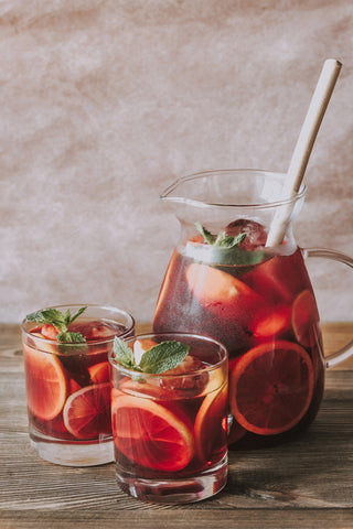 image of a pitcher of sangria