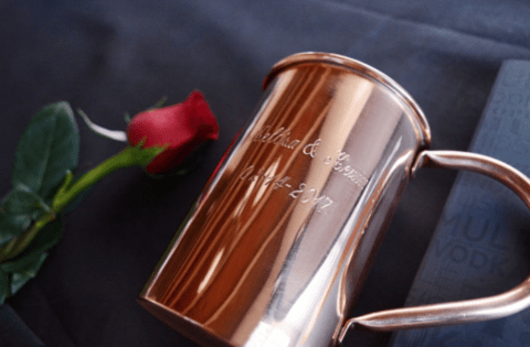 Fun Proposal Ideas with Copper Moscow Mule Mugs
