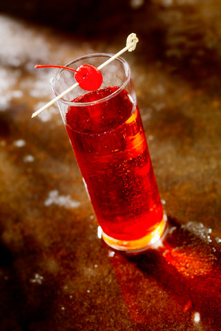Image of a shirley temple mocktail