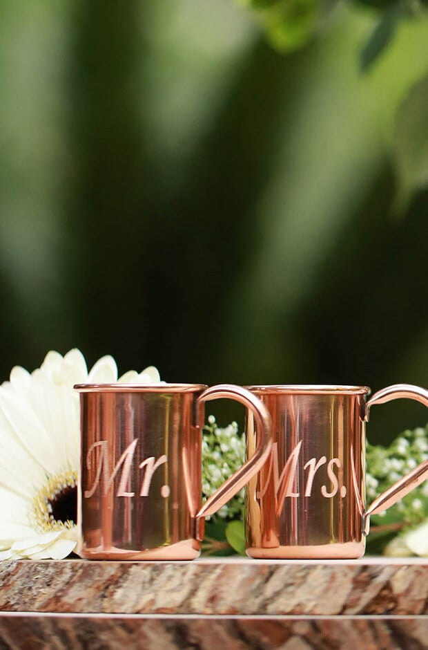moscow mule wedding ideas