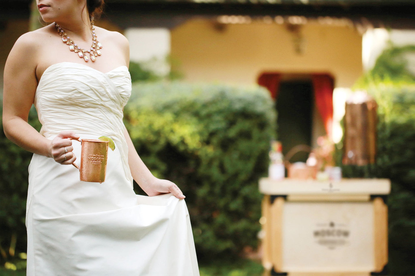 Copper Moscow Mule Mugs For Weddings