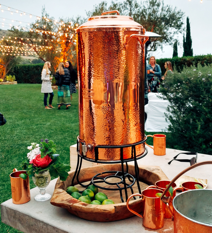 Copper Beverage Dispenser - 28 QT