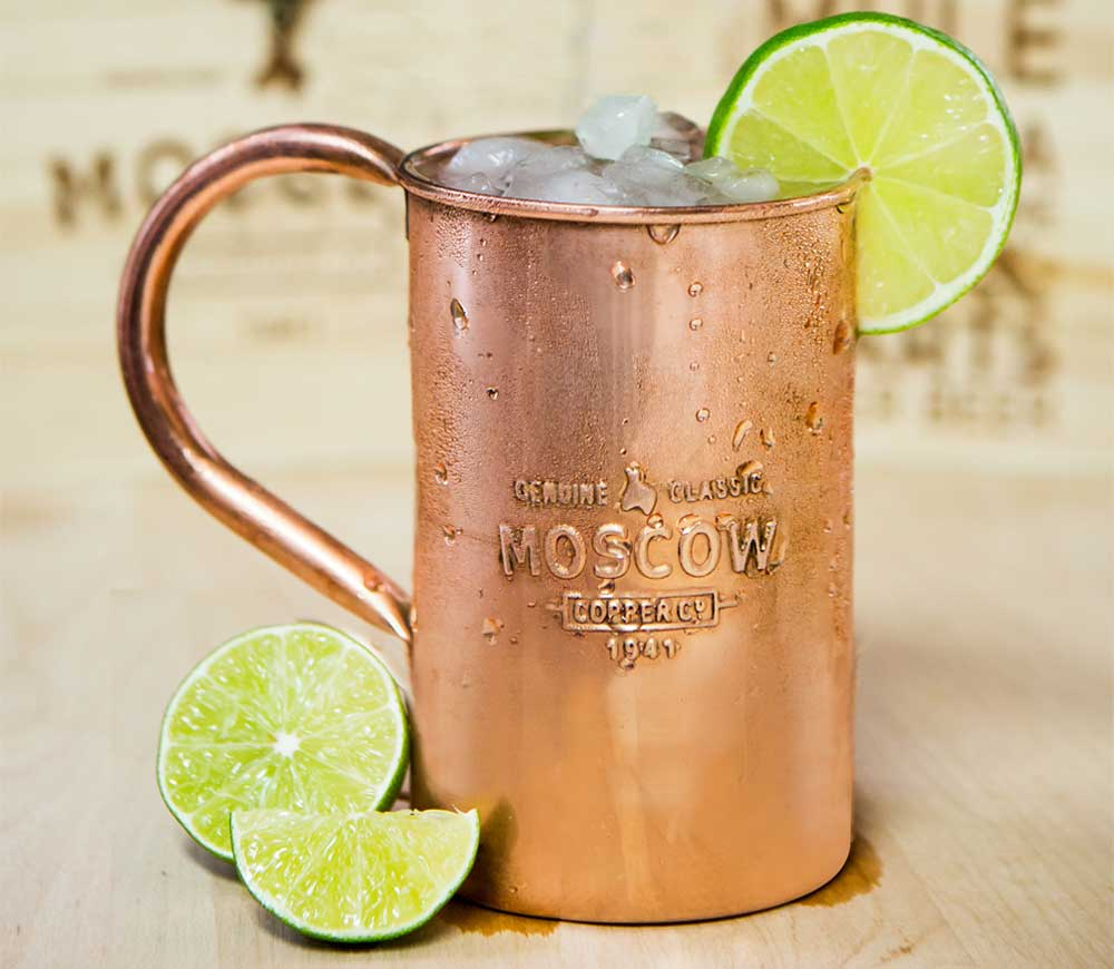 How to make a Moscow Mule recipe