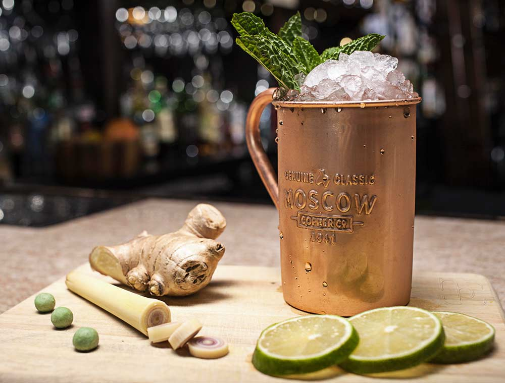 Jeweled Mule Moscow Mule Recipe by Ariel Scalise from Pittsburgh, PA