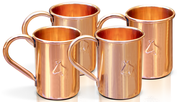 """Mini Mules"" by Moscow Copper Co"