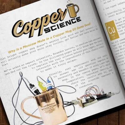 Moscow Mule Copper Science