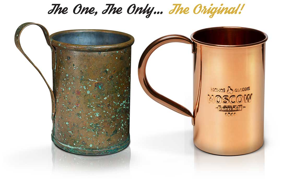 The Original Moscow Mule Copper Mug