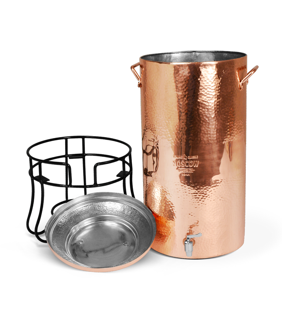 Copper Beverage Dispenser - 28 QT - 3