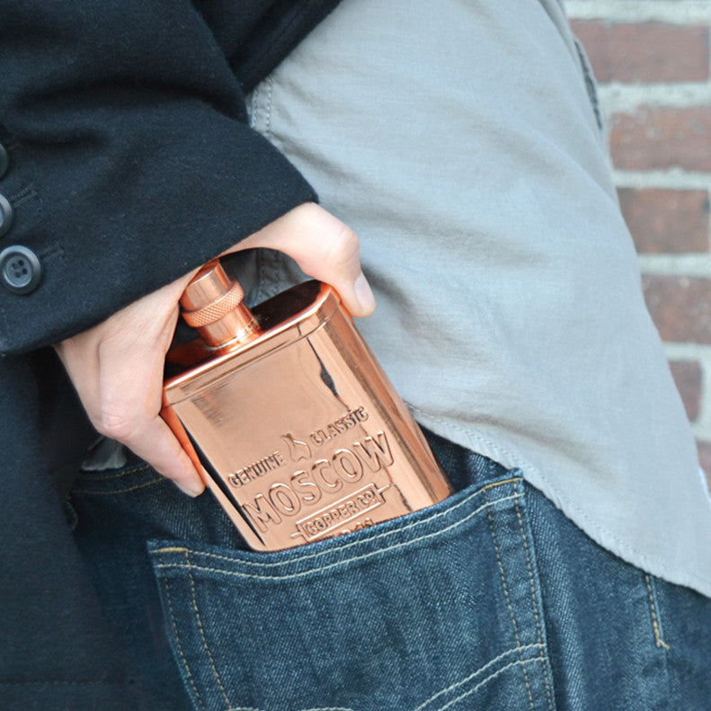 The Original Copper Flask 14 oz - 3