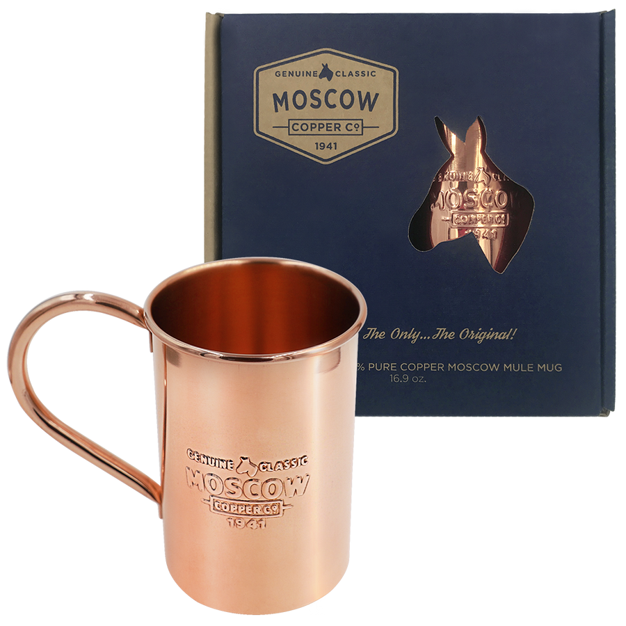 Original Moscow Mule Copper Mug