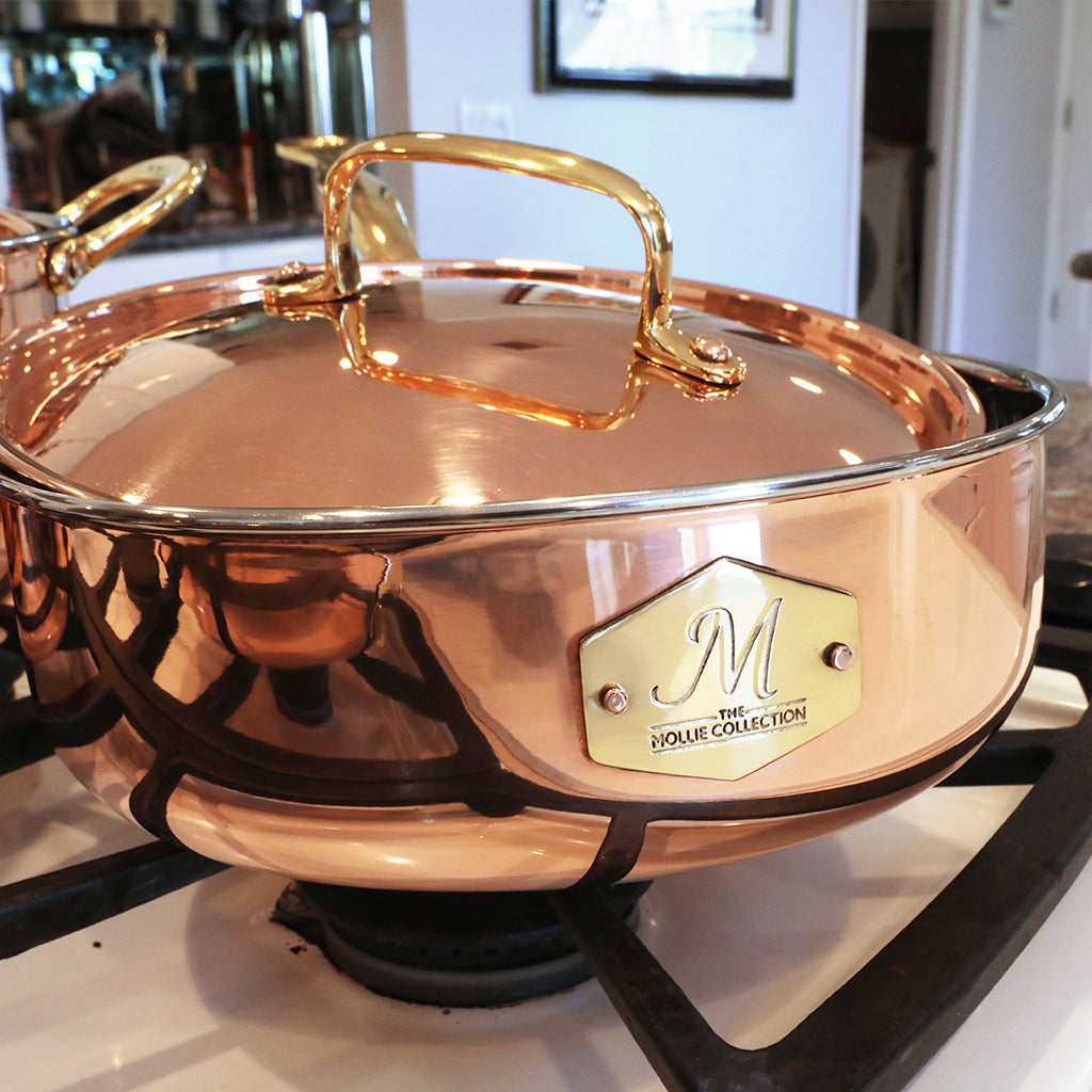 The Mollie Collection | Copper Cookware Set