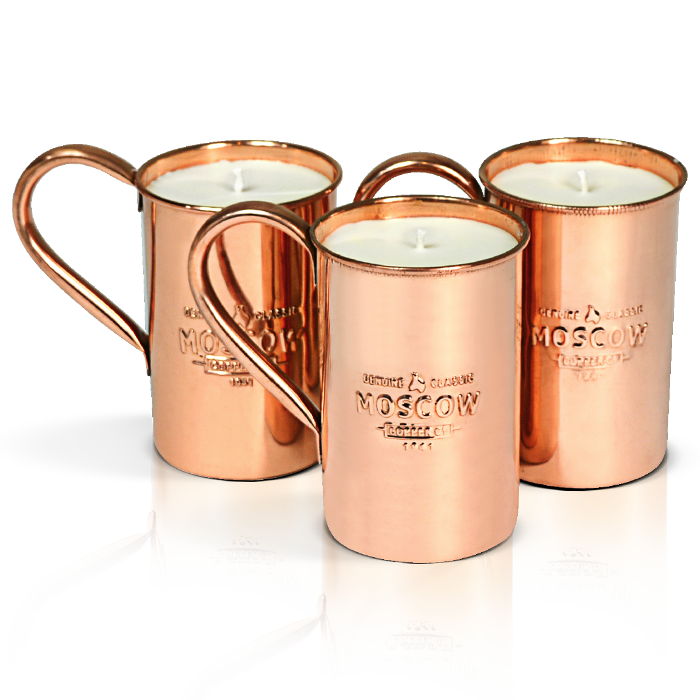 Ginger-Lime Copper Candle from Moscow Copper Co.