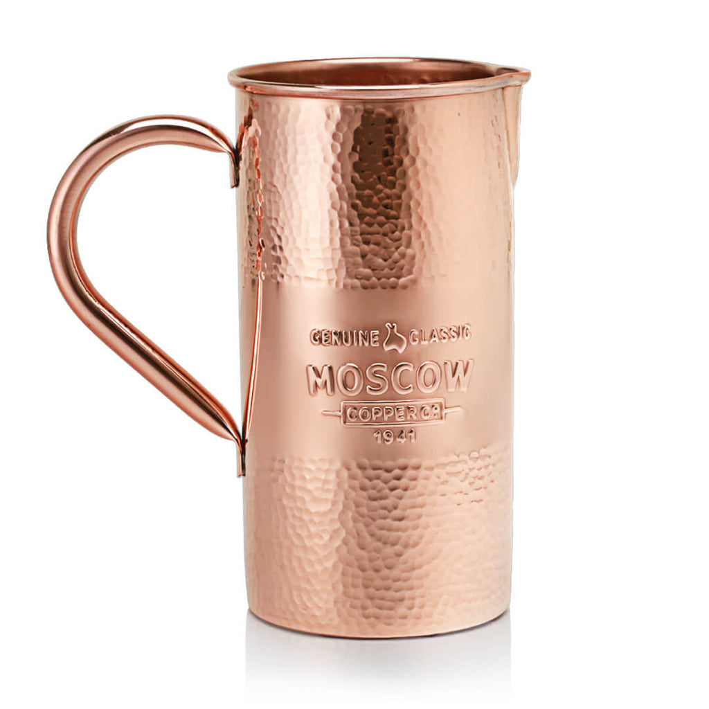 Moscow Copper Co.'s Hammered Copper Pitcher