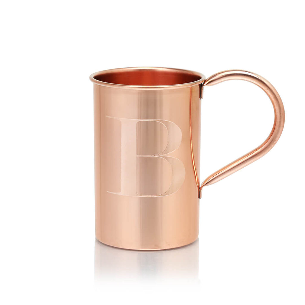 Customize your Original Moscow Copper Co. mug with your personal monogram.