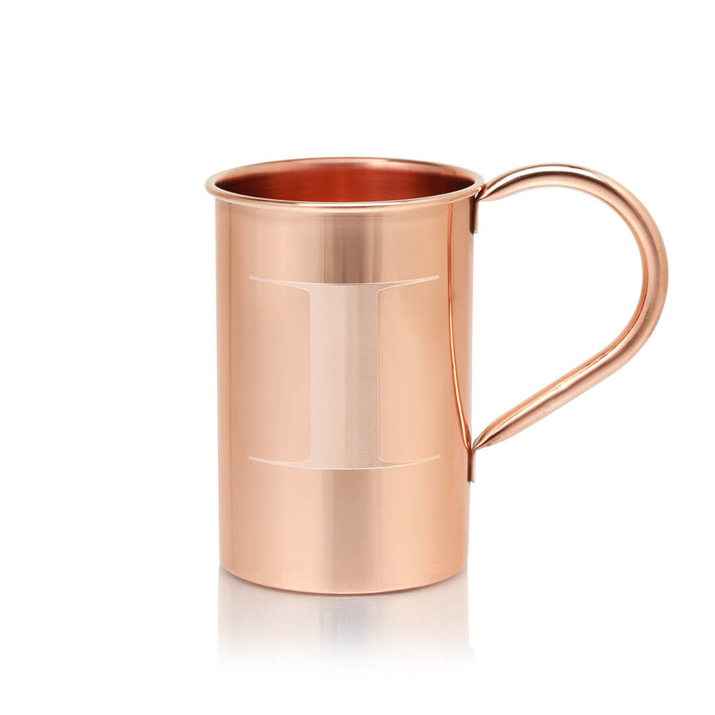 Our monogrammed 100% Original Copper Moscow Mule Mugs are the perfect gift for any cocktail-lover in your life.