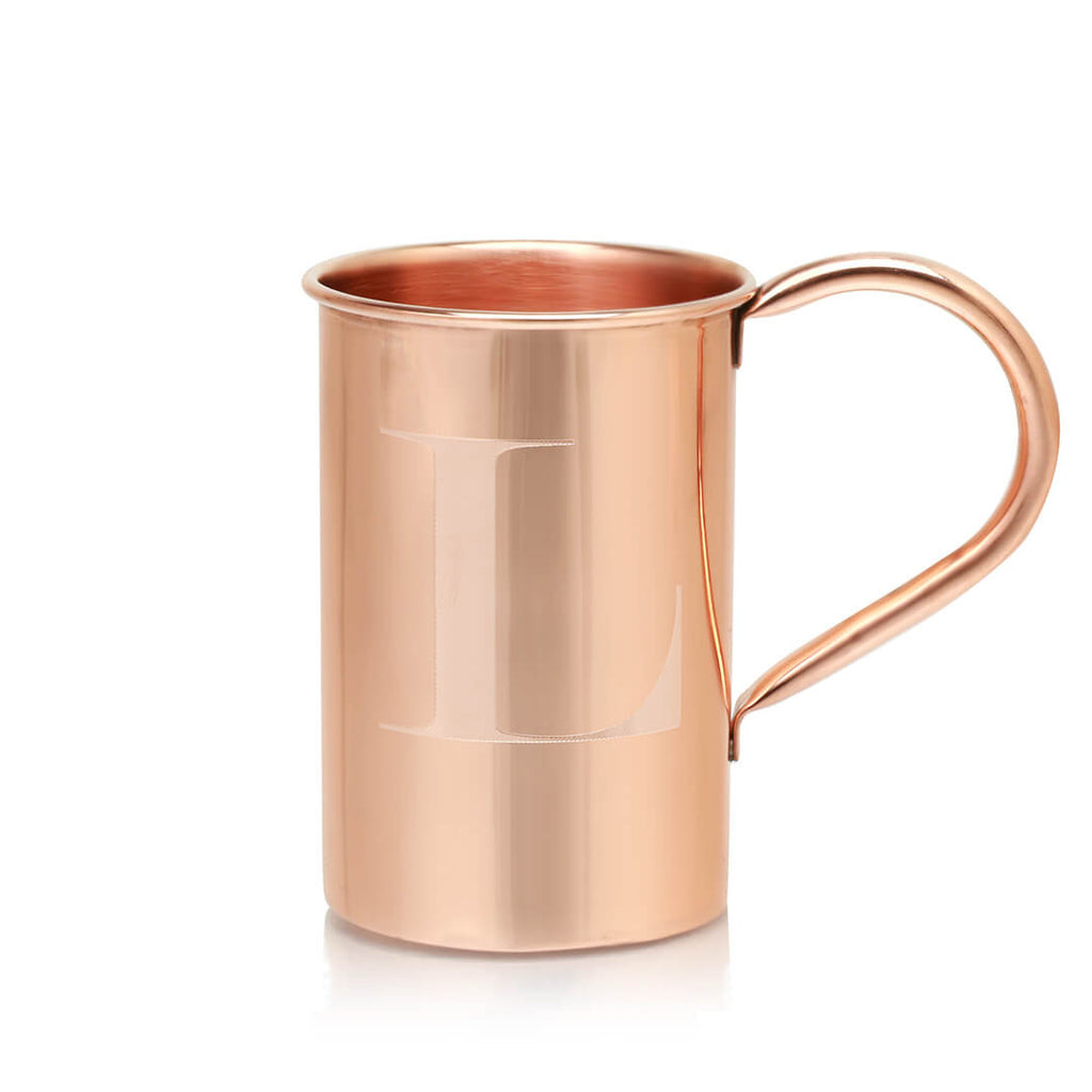 Our mongrammed copper mugs are a great gift with that perfect personalized touch.