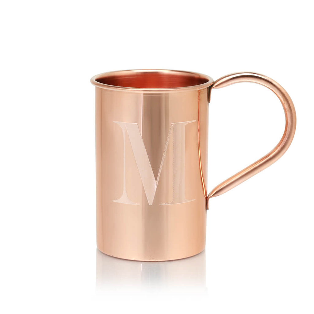 We offer custom engraving with any of our 100% Original Copper Mule Mugs.