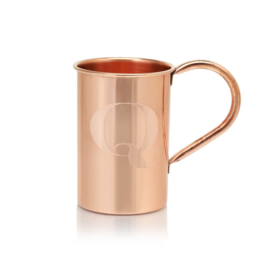 The ultimate gift: a monogrammed 100% Original Copper Mug!