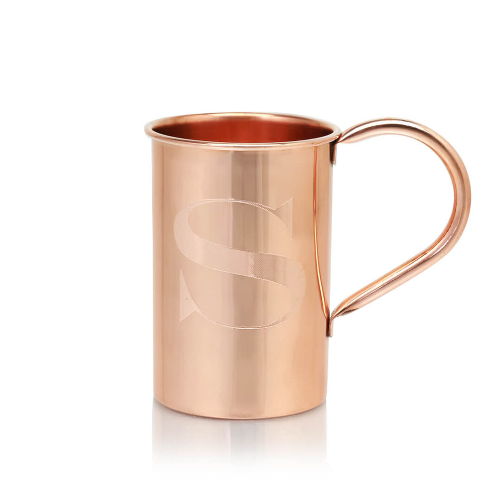 These personalized copper mugs are the perfect way to serve up a Moscow Mule.