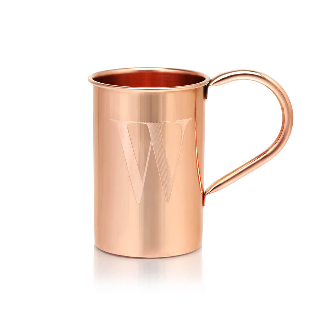 Make our 100% Original Copper Mule Mugs your own by customizing them with your initials!