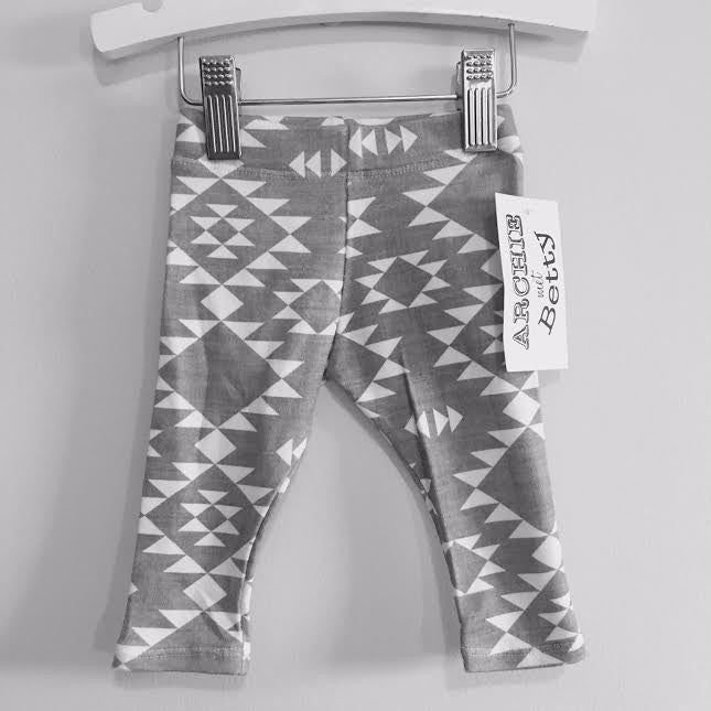 Leggings - Aztec Grey