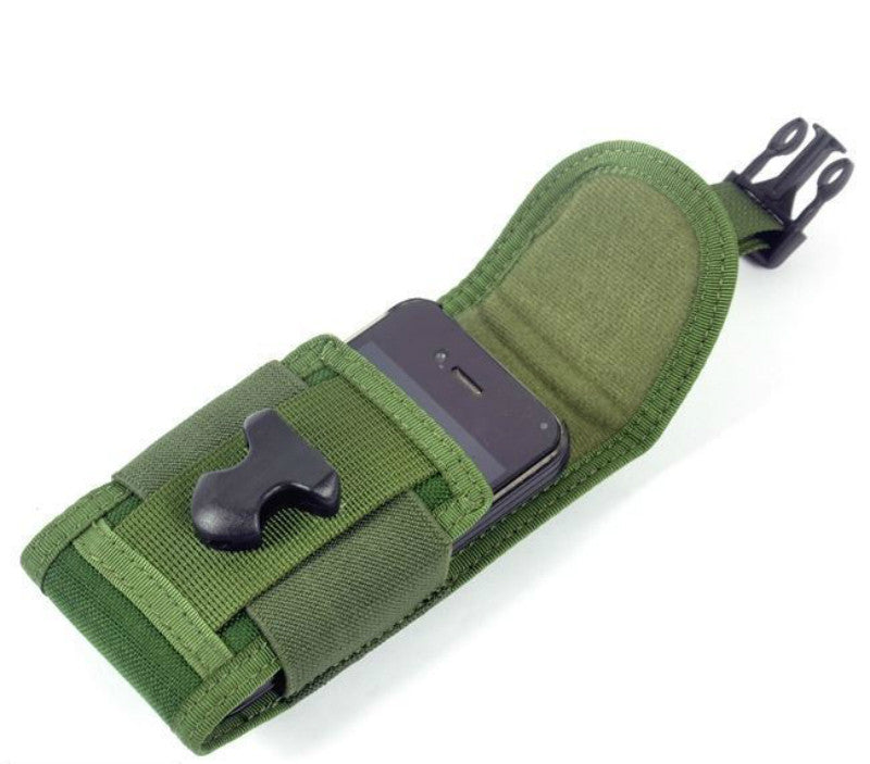 CORDURA FABRIC Phone Pouch Holder - Ranger Green - Rifleworks Shooting Accessories