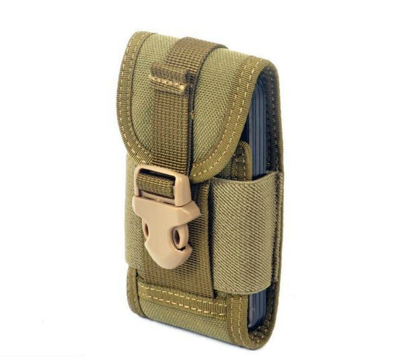 CORDURA FABRIC Phone Pouch Holder - Khaki
