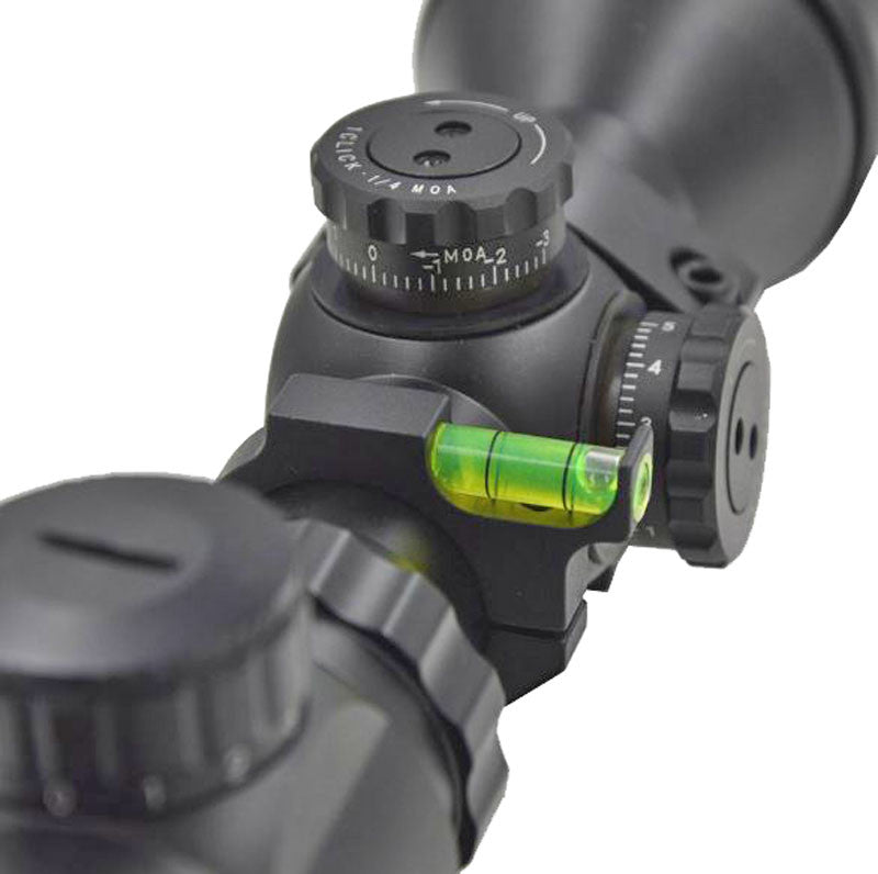 Rifle Sight Spirit Bubble Level for 1 inch tube