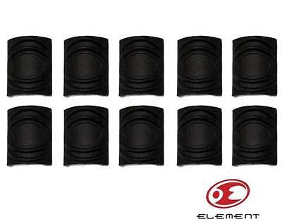 Element TDI style Rail Covers - Black 10 pce - Rifleworks Shooting Accessories