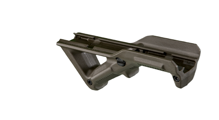 MAGPUL AFG® - ANGLED FORE GRIP 1913 PICATINNY - Olive Drab - Rifleworks Shooting Accessories