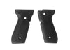 Hogue Beretta 92/96 series Rubber Grip Panels Black - Rifleworks Shooting Accessories