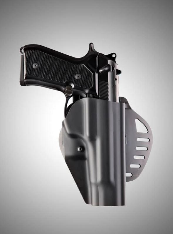 Hogue ARS Stage 1 - Carry Beretta 92 Right Hand Holster Black - Rifleworks Shooting Accessories