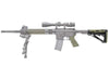 Hogue AR-15/M-16 Kit - OverMolded Grip & Buttstock - Commercial Spec - Olive Drab Green - Rifleworks Shooting Accessories