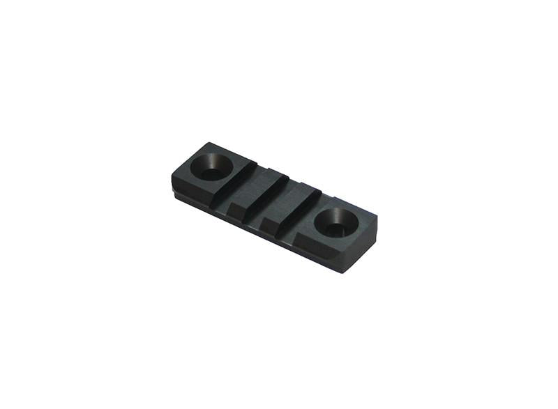3 Slot Picatinny Universal Round Bottom Rail - Rifleworks Shooting Accessories