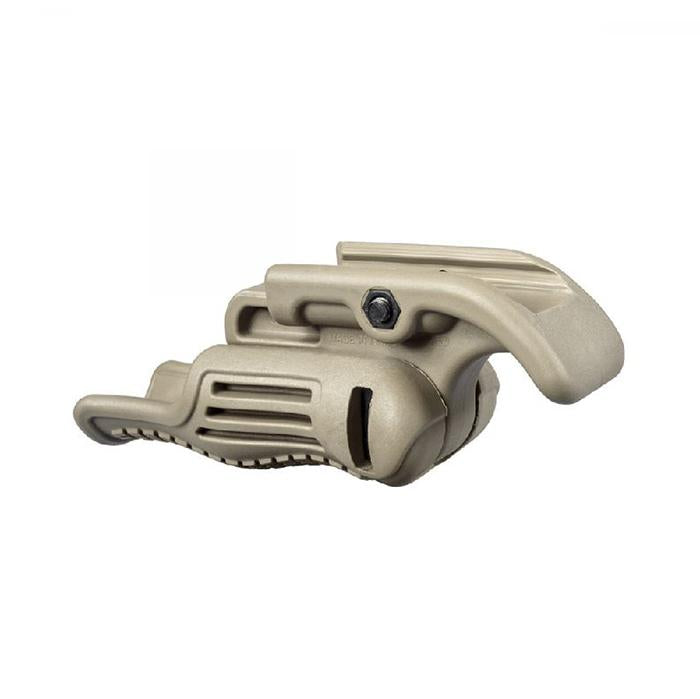 FAB Defense FGG-S Folding Vertical Foregrip - Tan - Rifleworks Shooting Accessories