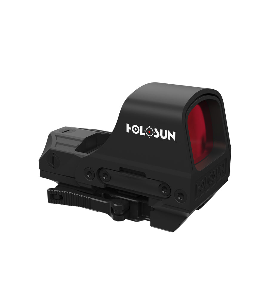 Holosun HS510C 2 MOA Red Dot & 65 MOA Circle Dot QD Solar Sight - Rifleworks Shooting Accessories