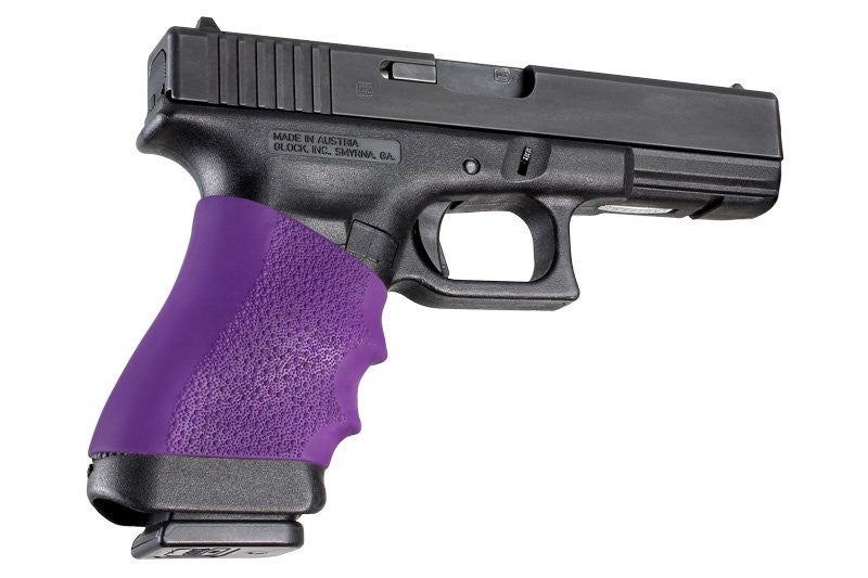 Hogue Handall Full Size Pistol Grip Sleeve - Purple - Rifleworks Shooting Accessories